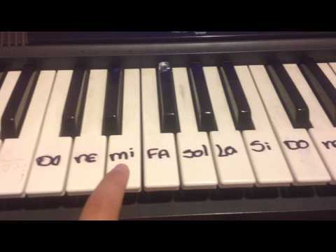 PIANO TUTORIAL-voy por ti-violetta