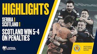 HIGHLIGHTS   Serbia 1-1 Scotland   Scotland Qualify For UEFA EURO 2020
