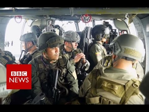 Colombia's battle with cocaine traffickers - BBC News