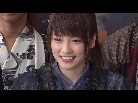 元AKB48川栄李奈、初主演舞台でおバカキャラ返上?「演劇で日本一取れる」と演出家が絶賛!舞台「AZUMI 幕末編」ゲネプロ・会見2 #Kawaei Rina #Azumi
