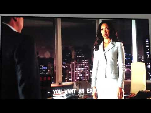 Louis litt finds out about mike, intense scene of suits