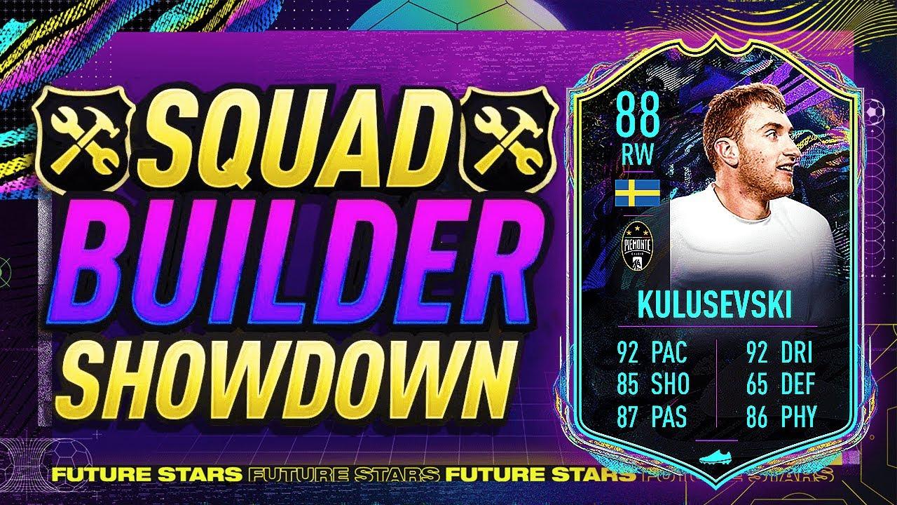 FIFA 21 SQUAD BUILDER SHOWDOWN! FS KULUSEVSKI! FIFA 21 ULTIMATE TEAM - YouTube