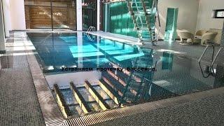 видео Гидропломба -  гидроизоляция бассейна