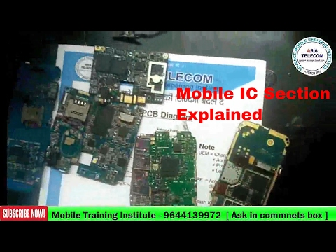 [Hindi/Urdu] Android Chip level hardware Repairing | Mobile IC Section explained | Asia Telecom