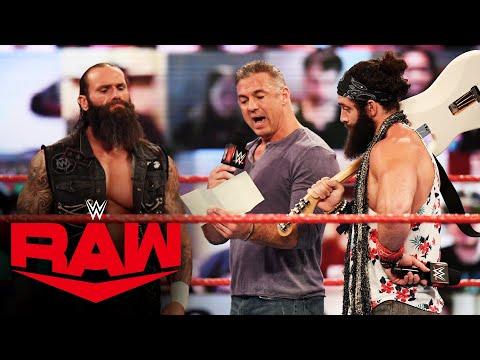 Shane McMahon exposes Braun Strowman's poor academic past: Raw, Mar. 29, 2021