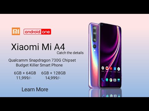 Xiaomi Mi A4 | Snapdragon 730G | 5200 mAh battery | Everything You Need To Know