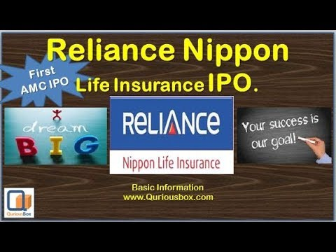 Reliance Nippon Life Insurance IPO | Reliance IPO | Reliance Life IPO | Reliance Nippon IPO