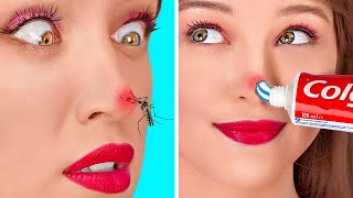 SUMMER PROBLEMS AND EASY FIXES || Coolest DIY Hacks To Solve Your Problems by 123 GO!