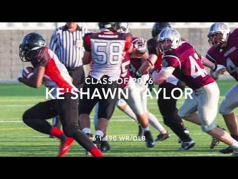 Ke'shawn Taylor Senior Highlights