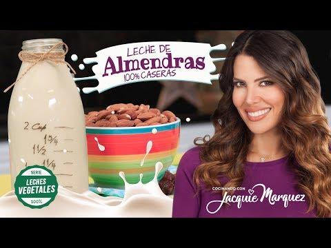 COMO HACER LECHE DE ALMENDRAS | Leches Vegetales #1