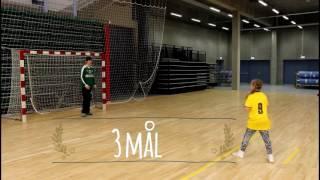 Herre-U20 landsholdet - Straffekastkonkurrence - Landsholdsmålmand vs. 23 U10-piger.