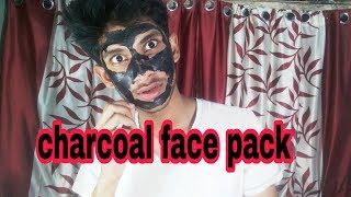 Charcoal face pack | Tanish Kundu lifestyle