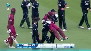 ICC U19 CWC: An outstanding show of sportsmanship in the game between West Indies and New Zealand