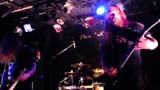 Vomitory @ Namba Rockets Dec 18, 2013 @ Namba Rockets, Osaka.