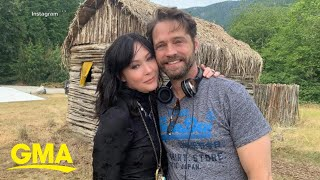 Actor Jason Priestley heartbroken by Shannen Doherty's cancer recurrence l GMA