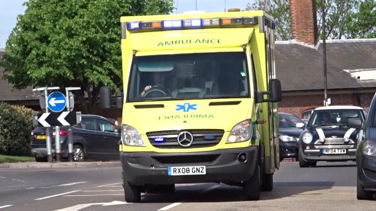 Ambulance service rapid response vehicle emergency ambulance responding
