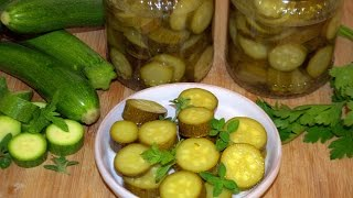 Zucchine in agrodolce.
