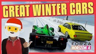 Forza Horizon 4 | Great Winter Cars (A, S1, S2 Class)