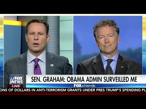 Sen. Rand Paul: We cannot live in fear of our own intelligence community - June 6, 2017