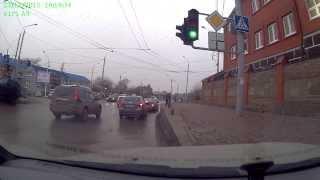 ДТП Портовая Молодгвардейский 23 декабря 2013, Range Rover, Ростов-на-Дону