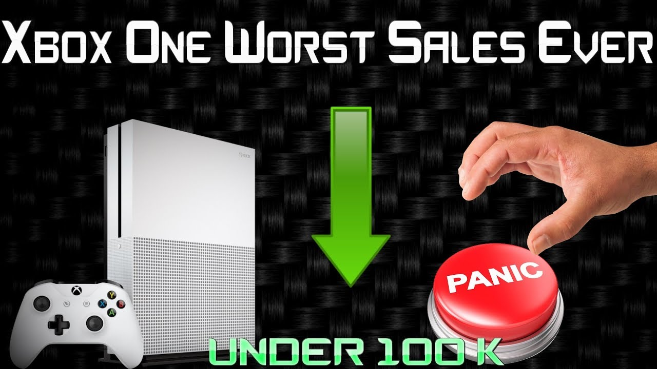 WTF? Xbox One Sales Drop To All Time Low! Microsoft Needs To Wake Up And Do  Something Drastic!