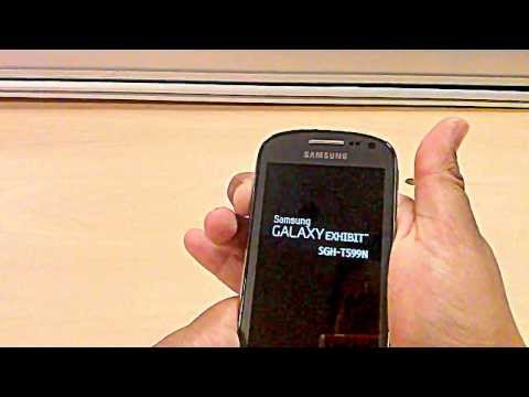 Hard Reset Samsung Galaxy Exhibit