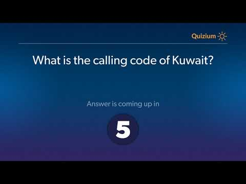 What Is The Calling Code Of Kuwait?   Kuwait Quiz