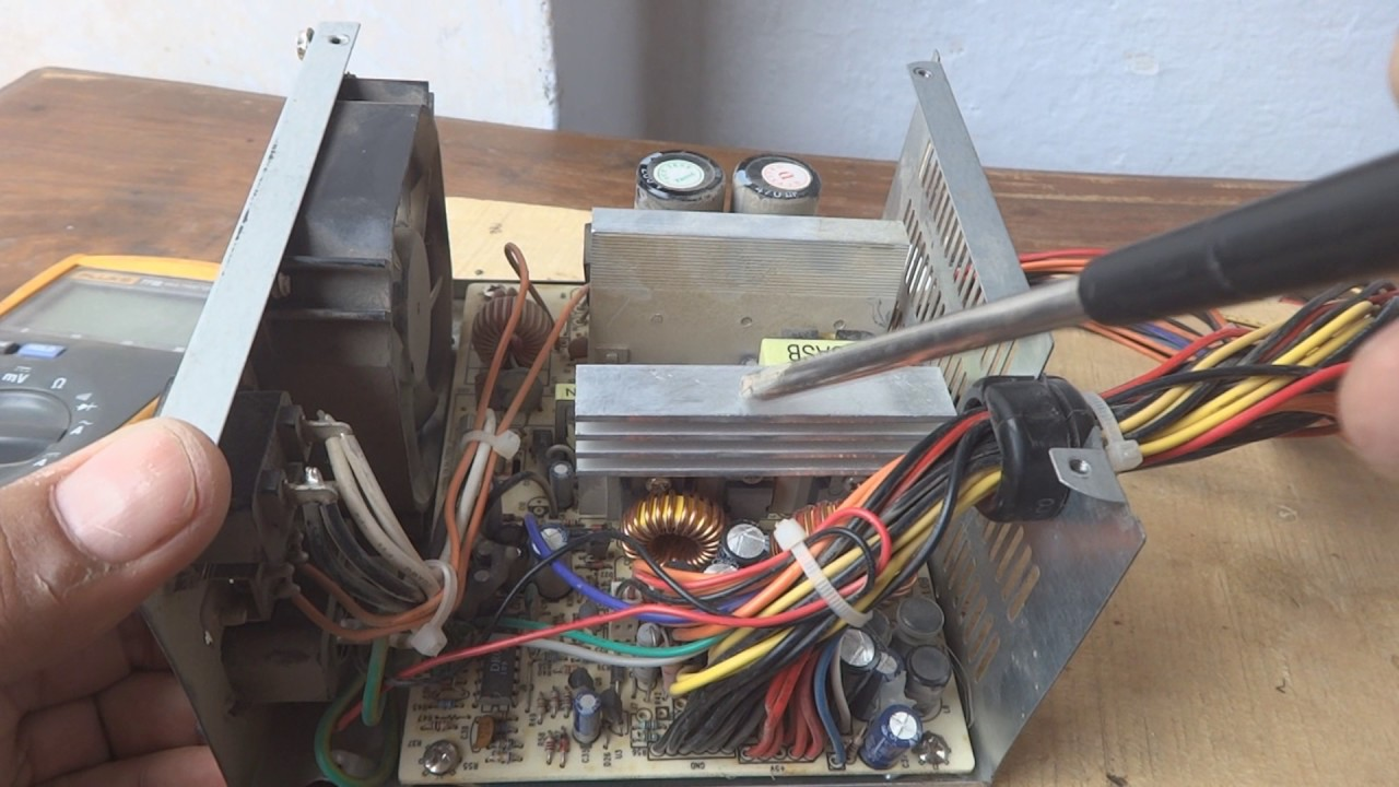 ATX power supply introduction Urdu Hindi. PC power supply. Rig power ...