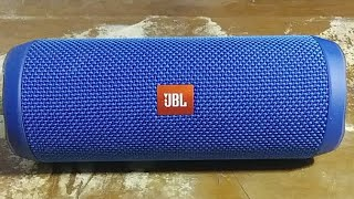 JBL FLIP4 BASS I LOVE YOU TEST