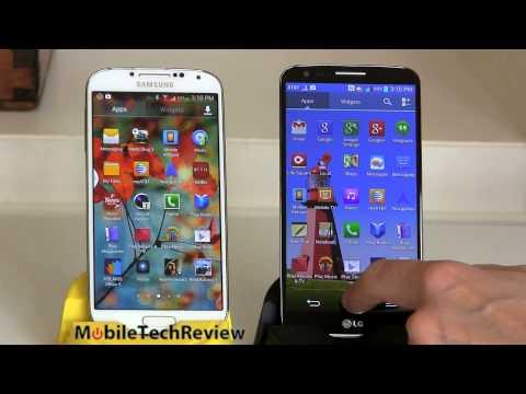 LG G2 vs. Samsung Galaxy S4 Smartphones Comparison Smackdown
