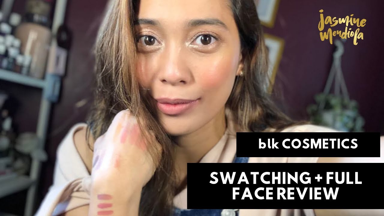BLK Liquid Mattes & Water Tints Swatching and Full Face Review