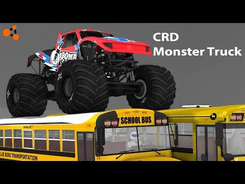 CRD Monster Truck -- BeamNG [Official Trailer]