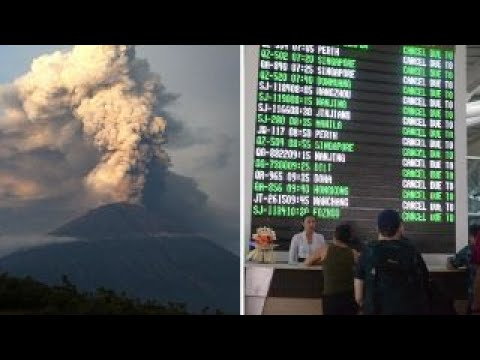 Global worries as volcanic eruption threatens Bali