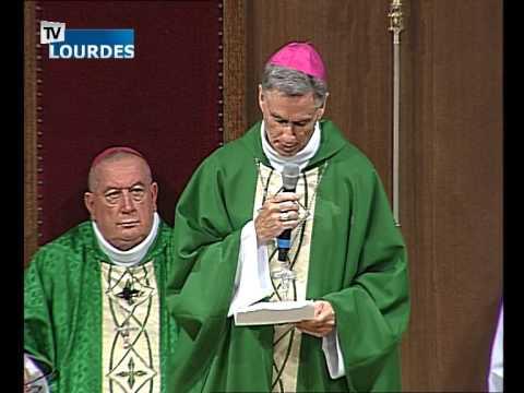Lourdes Messe Internationale du dimanche 02 août 2015-International Mass (France)
