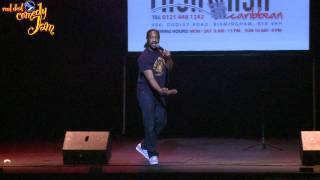 Kat B @ Real Deal Comedy Jam