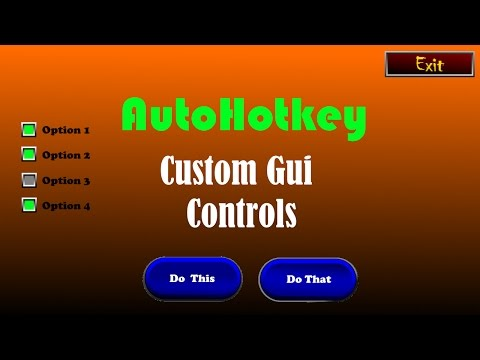 Intro to Custom Gui Controls/Buttons with Joe Glines