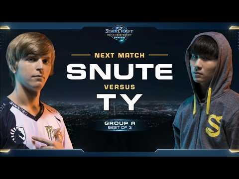 TY vs Snute TvZ - Group A - WCS Global Finals 2017 - StarCraft II