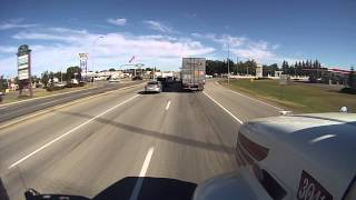 Trucking Thru Alberta Canada   Sept 2013
