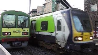 IE 29000 Class Commuter Train 29412 - Grand Canal Dock, Dublin