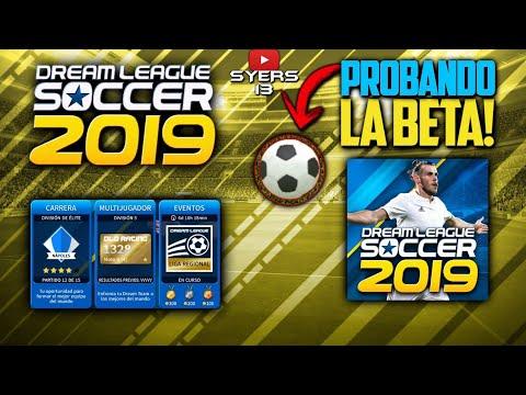 TENGO la BETA de DREAM LEAGUE SOCCER 2019!! •|Probando la BETA de Dream League Soccer 2019|•