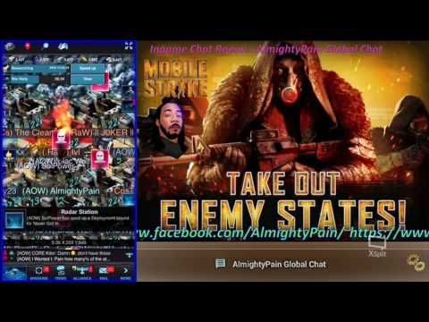 Mobile Strike Ep 344 Rally Raw A 24B Billion  In Research Gear Lost My Commander At The End