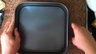 Cómo Forrar Un Molde Para Brownie