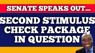 🔴 SECOND STIMULUS CHECK AND STIMULUS PACKAGE UPDATE $1200 CHECK UPDATE  ( PRE- RECORDED)