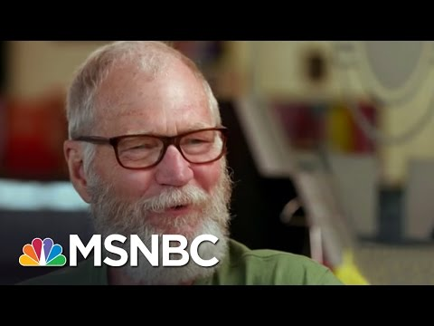 David Letterman: I Couldn't Care Less About Late Night TV  MSNBC