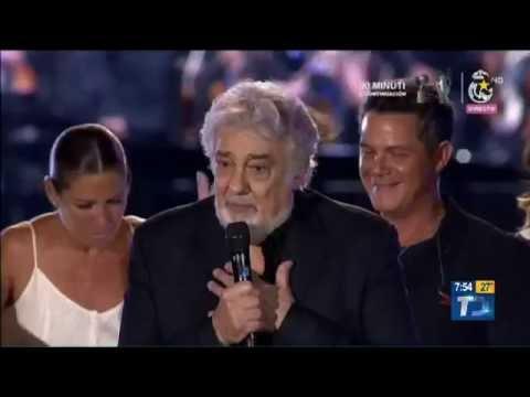 Placido Domingo homenaje en España