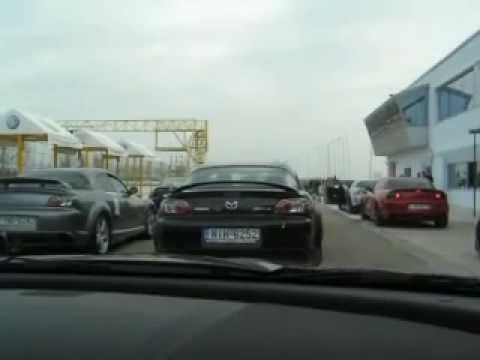 Hellenic RX-8 Club - Parade lap at Serres Racing Circuit