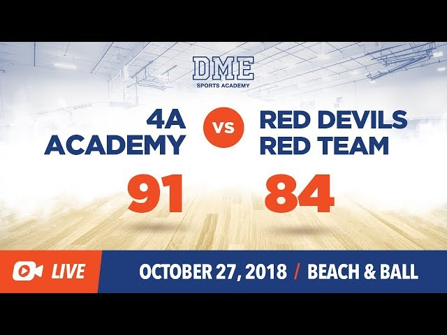 Red Devils Red vs 4A Academy