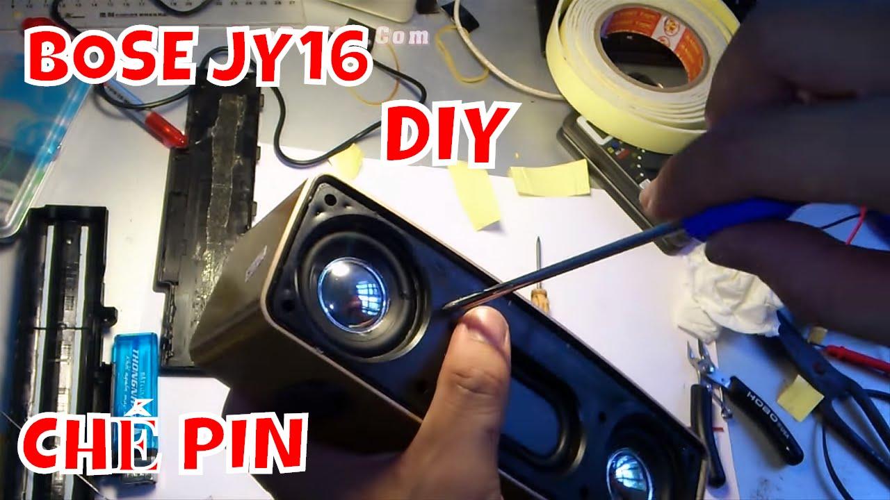 Loa bluetooth BOSE mini JY-16 ( CHẾ THÊM PIN – ĐỘ LẠI ANTEN ) BẢN NÂNG CẤP CUỐI CÙNG
