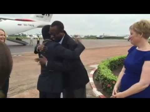 Special Representative of the Secretary General, Parfait Anyanga arrival- Central Africa republic