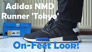 On-Feet Look: 2016 Adidas NMD R1 Runner 'Tokyo'!